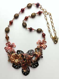 Necklace by Lynda O'Mara